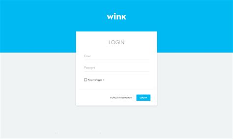 wink web ui materialup