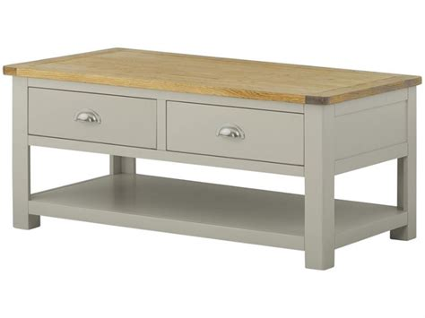 painted coffee tables with drawers hockley painted coffee table with drawers furniture barn