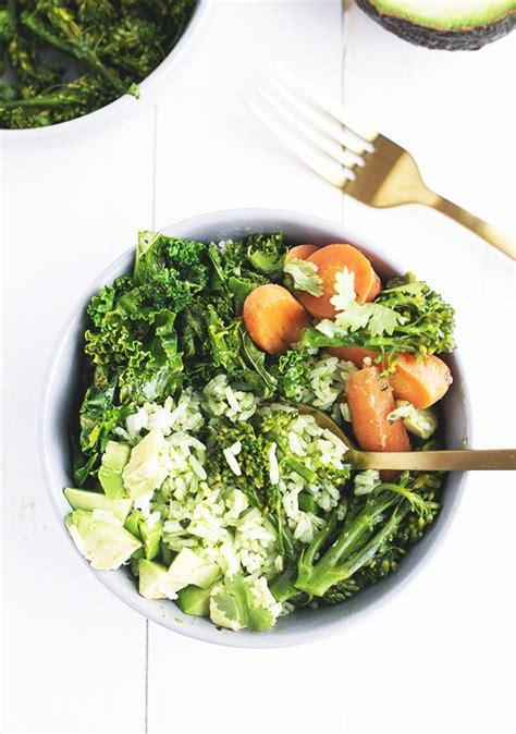 Green Vegan Detox Recipe by Green Detox Bowl With Thai Basil Pesto Vegan Kitchen