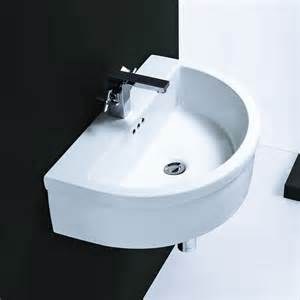 bathroom sinks wall hung cantrio koncepts ps 009 ceramic series vitreous china hung