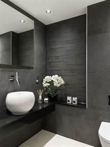 Half Bathroom Tile Ideas 20 Trendy Gray Bathroom Interiors In Contemporary Style