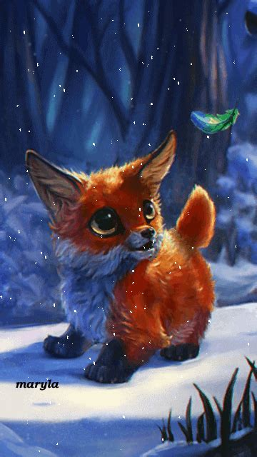 fox mobile free animated fox mobile wallpaper by maryla75 on