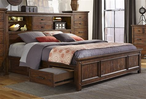 queen bed with headboard storage affordable diy queen storage bed with bookcase headboard