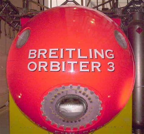 breitling orbiter global circumnavigation baloon project