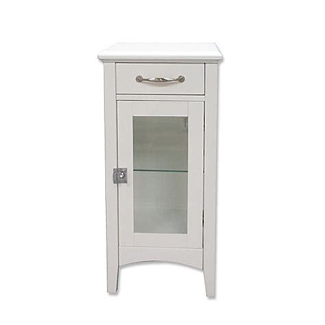 white bathroom floor cabinet with drawers 1 drawer bathroom floor cabinet with glass door in white