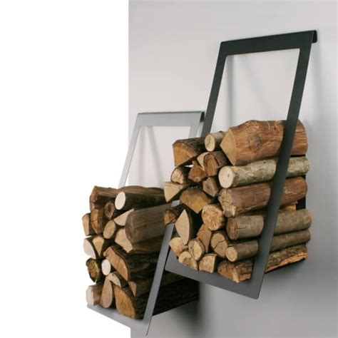 firewood basket home pinterest firewood baskets and buy wall mounted log basket holder stylish and modern