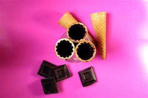 gelato fior di latte bimby ricetta coni gelato fiordilatte e cioccolato con bimby