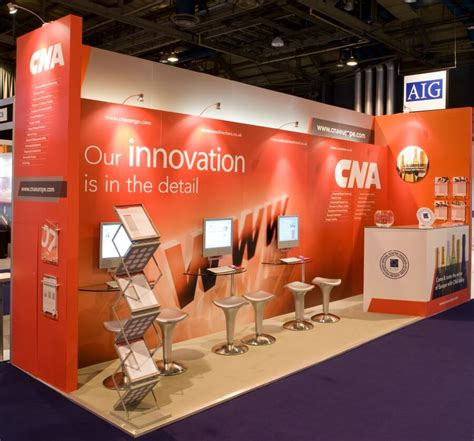 biba conference  exhibition stand design  build