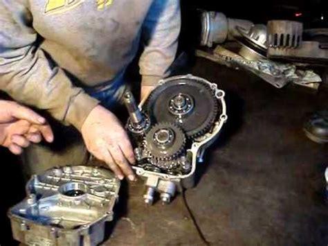 polaris atv  transmission repair youtube