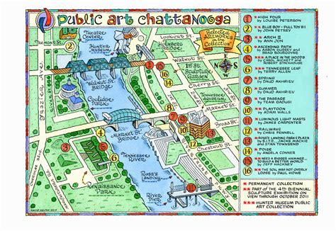 chattanooga map the top 11 shareable innovations in chattanooga tennessee shareable