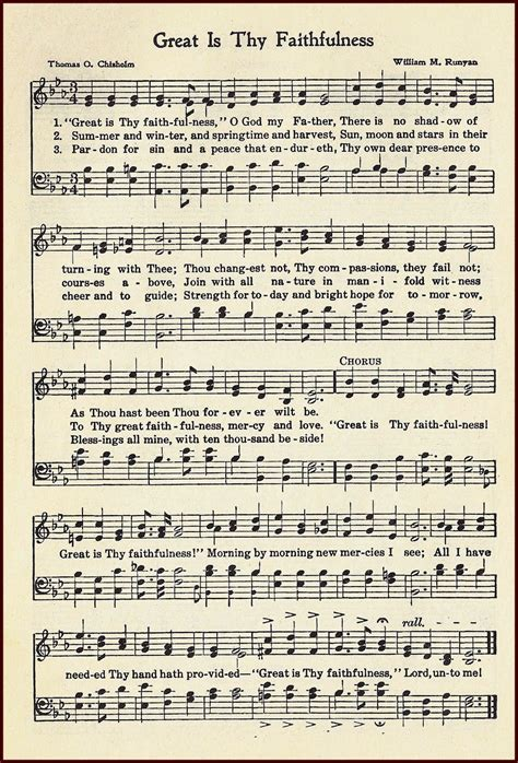printable lyrics to great is thy faithfulness little birdie blessings great is thy faithfulness hymn