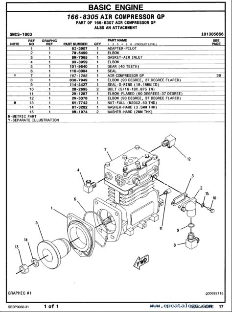 caterpillar   truck engine parts manual