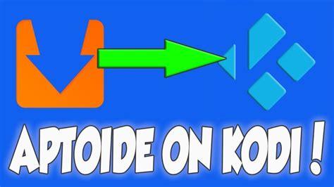 aptoide nvidia shield aptoide kodi addon install apk on any android device