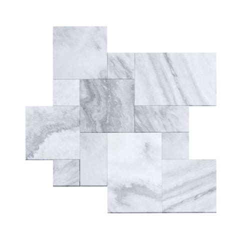 rainfall pattern in french rain cloud marble sandblasted french pattern paver