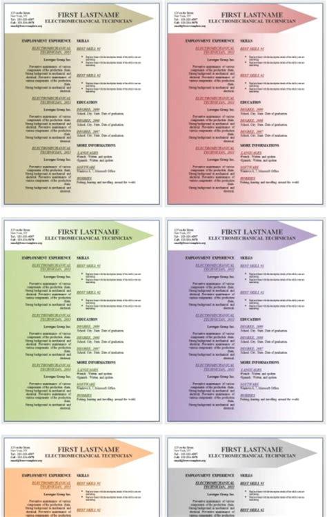 curriculum vitae resume office templates