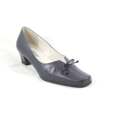 sandpiper navy leather court shoe sandpiper from