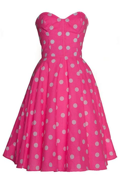 swing style dresses pink polka dot 50s inspired swing dress polka dots and