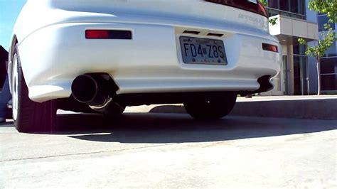 dodge stealth exhaust 4 quot ich cat back exhaust on a 91 dodge stealth r t tt