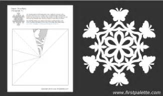 free snowflake patterns amp templates amy s wandering