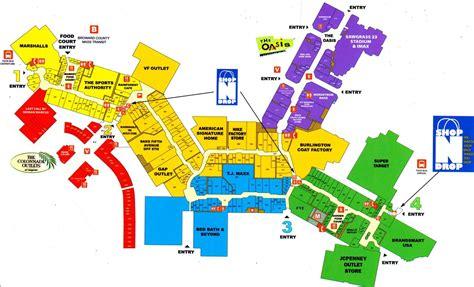 layout of sunrise mall map of sawgrass mills mall map pinterest