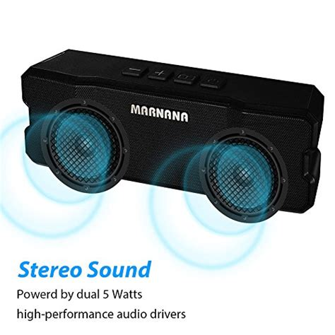Outdoor Portable Bluetooth Speaker With Tf Card Slot And Nfc Kd 57 bluetooth speakers marnana outdoor portable speakers ipx5 water resistant with tf sd card slot