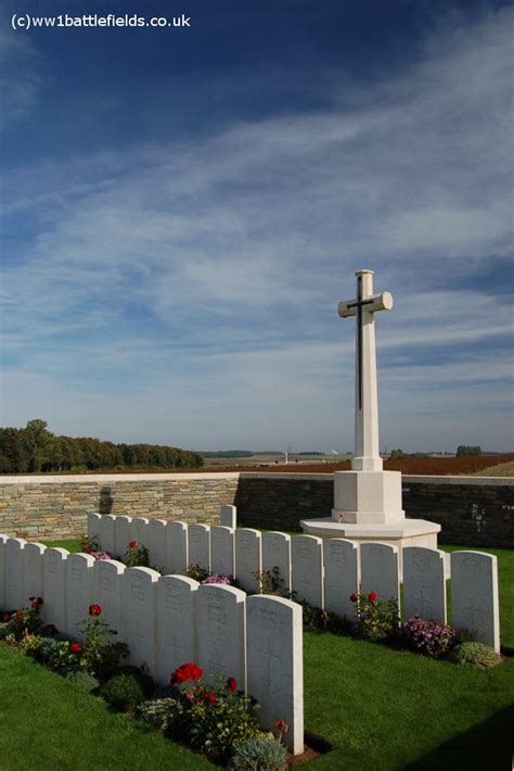 serre sheffield memorial park world war one battlefields - Serre Road Cemetery No 3
