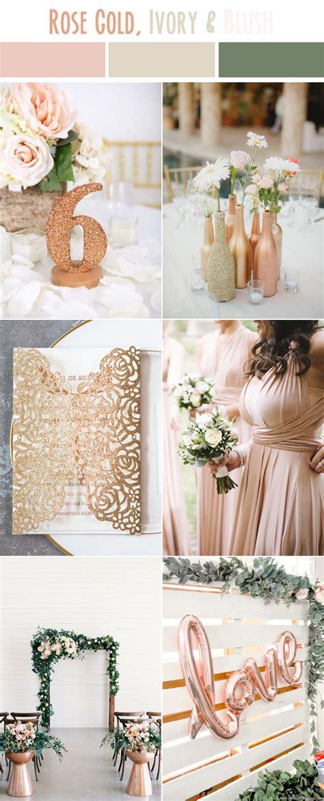 gold wedding colors 10 best wedding color palettes for summer 2017
