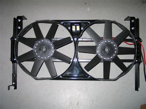 electric fan installation electric cooling fan installation