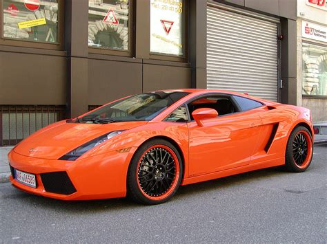 Lamborghini Orange Orange Lamborghini Gallardo