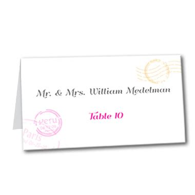 Perfectly Pretty Postage by Pretty Postage Table Card