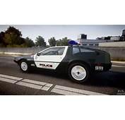 DeLorean DMC 12 Final Police For GTA 4