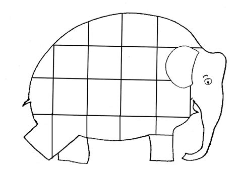 Free Coloring Pages Of Elmer Elephant Elmer Colouring Pages