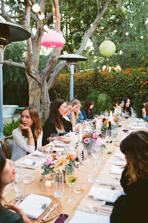 backyard dinner party d e s i g n l o v e f e s t 187 backyard dinner party