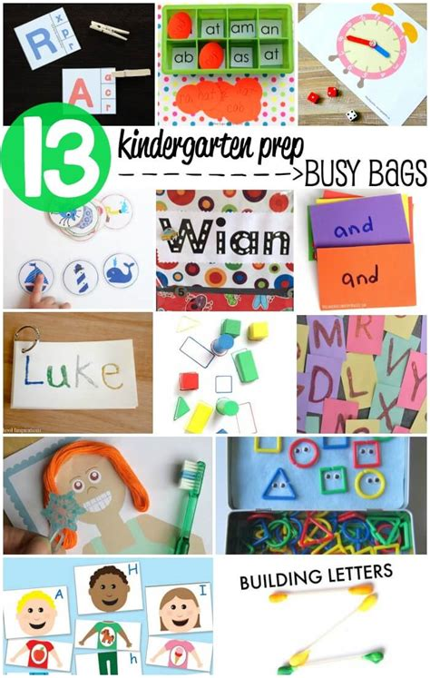 bags kindergarten printable alphabet matching puzzles busy bag itsy
