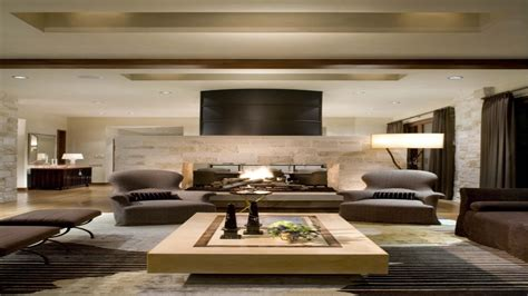 living room with brown sofa rich modern living room cozy