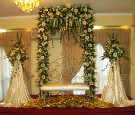 wedding altar decorations vismaya wedding settee backs