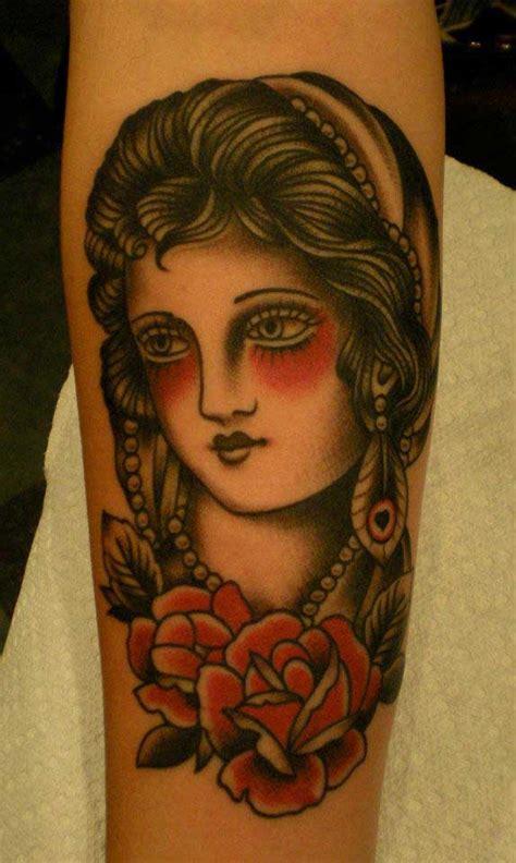 tattoo old school gitana 187 gitane