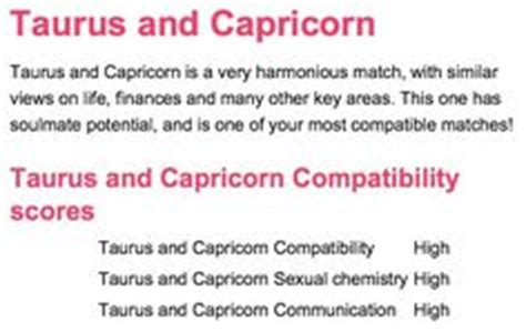 capricorn woman and taurus man in bed proud taurus