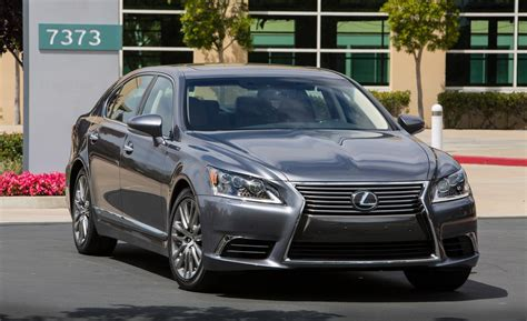lexus ls460 car and driver