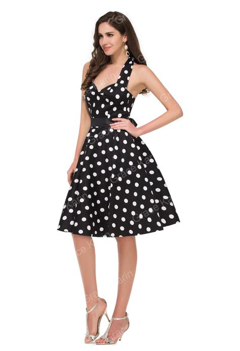 grace karin retro style cotton 50s polka dots dress 1950s vintage dresses cl4599 1 view polka