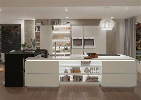 mod鑞es de cuisines dix cuisines blanches aux lignes 233 pur 233 es inspiration cuisine