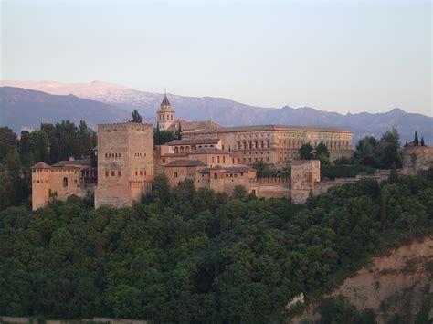 ahora granada la alhambra es alhambra en granada en espa 241 a europa viajeteca com