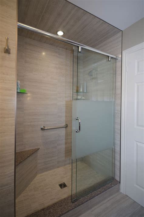 Shower Enclosure With Bench Shower Enclosure Corner Bench And Sliding Glass Doors