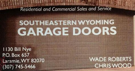 Southeastern Overhead Door Southeastern Wyoming Garage Doors