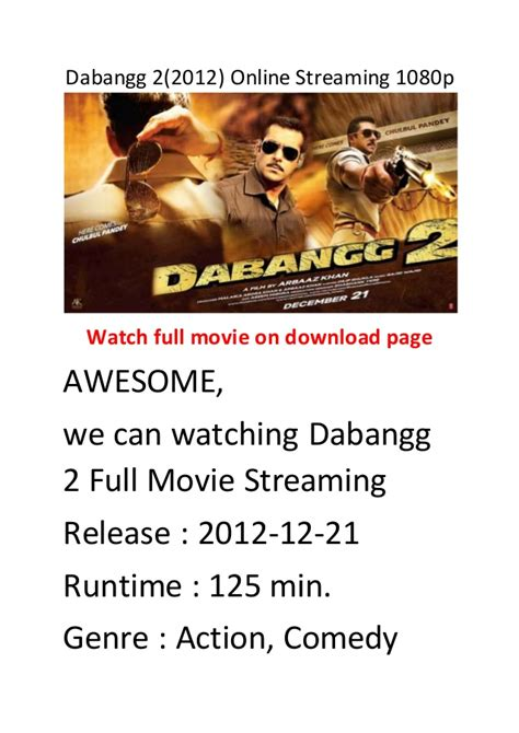 streaming film action comedy dabangg 2 2012 online streaming 1080p comedy action movie