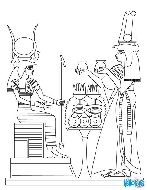 printable egyptian art ancient egypt art coloring pages hellokids com