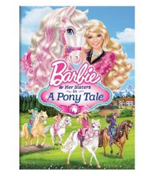 film barbie horse new barbie in a pony tale dvd my frugal adventures