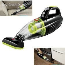 bagless handheld bissell battery operated vacuum cleaners