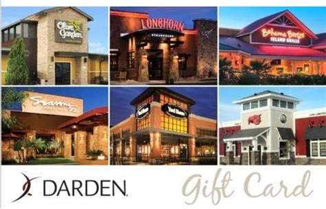 Darden Gift Card Promo Code - ebay 50 darden gift card only 40 good at olive garden longhorn steakhouse red