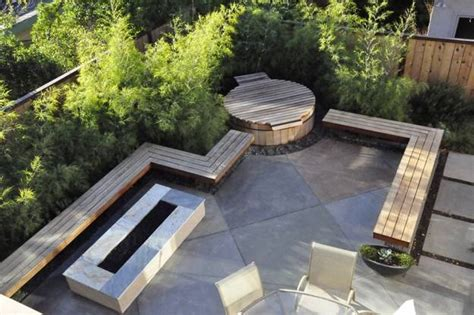 modern patio design 22 outdoor living spaces with jacuzzi tubs and beautiful